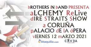 """bROTHERS iN bAND """"Alchemy dIRE sTRAITS Re-Live"""""""